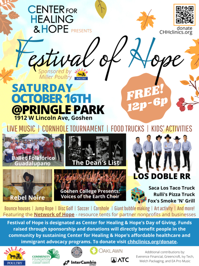 Festival of Hope October 16th